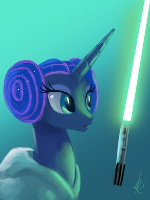 Jedi princess luna Princess Leia - 8452443392
