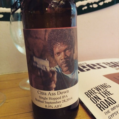 samuel L jackson needed a good beer