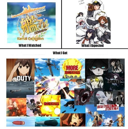anime expectations vs reality kantai collection - 8452587264