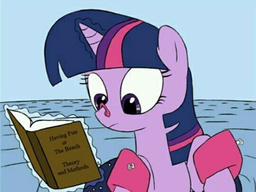 fun twilight sparkle swimming