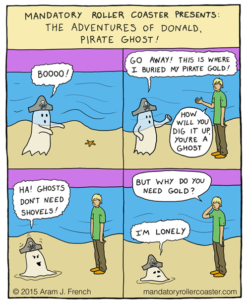money ghosts sad but true lonely web comics - 8452922624