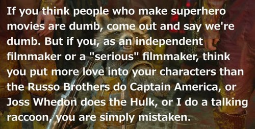superheroes-rocket-raccoon-marvel-james-gunn-responds-to-superhero-movie-insults