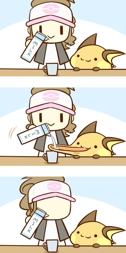 raichu milk web comics - 8452983552