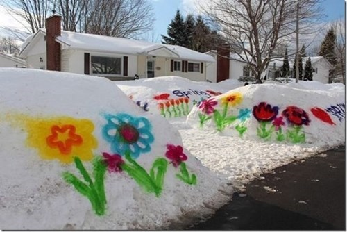 epic-win-pics-graffiti-spring-winter-snow