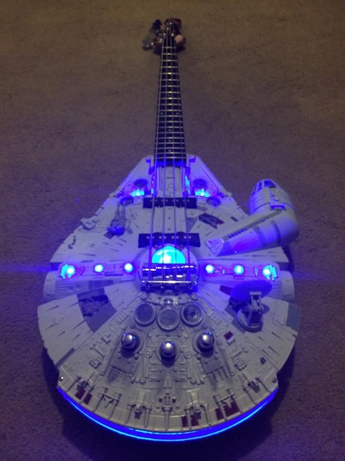Playing Those Funky Licks All Over the Galaxy