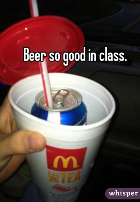 McDonalds and Bud Light, how classy