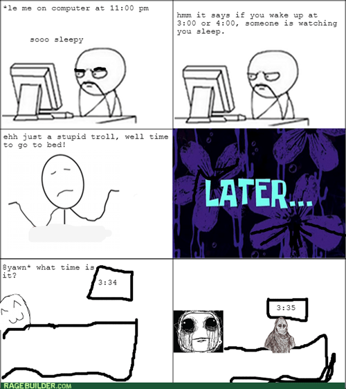 trolling,sleeping