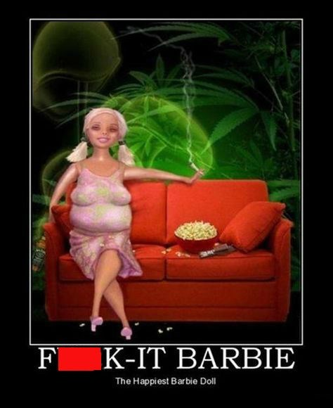 The Barbie That Doesn't Care