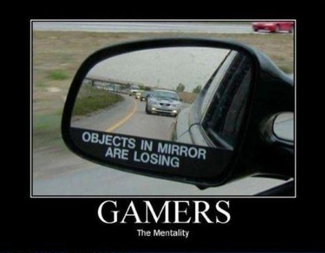 gamer mirror cars funny - 8453128192