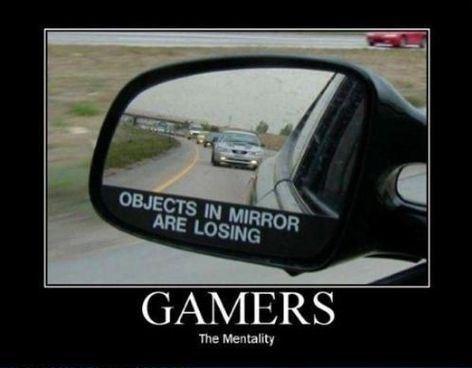 gamer mirror cars funny - 8453128192