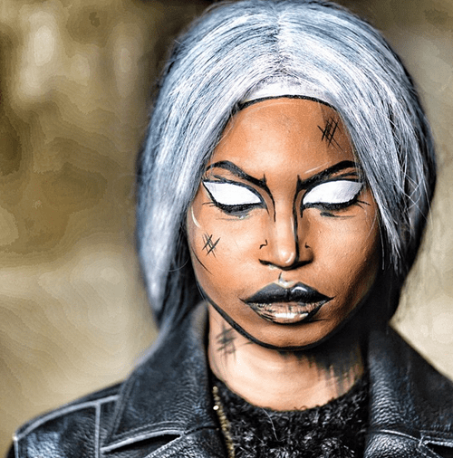 storm makeup cosplay