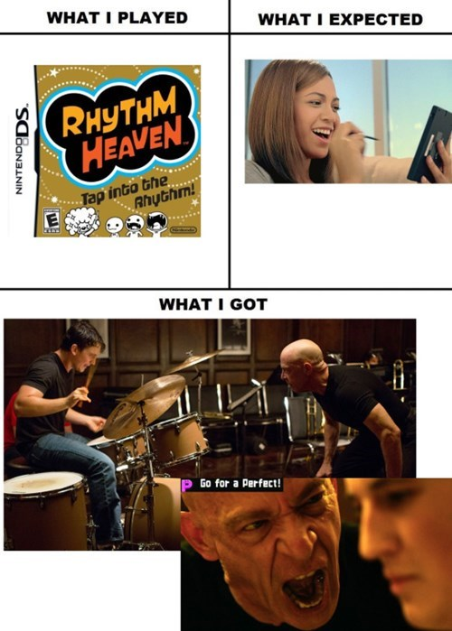 whiplash,gaming,rhythm heaven