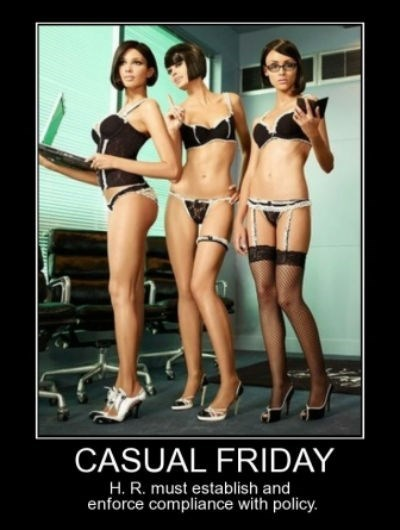 casual friday funny real doll wtf secretary