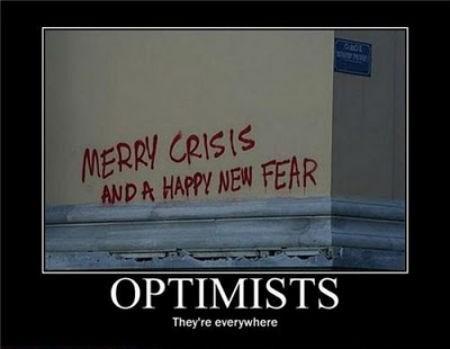 depressing funny graffiti optimist - 8453413632