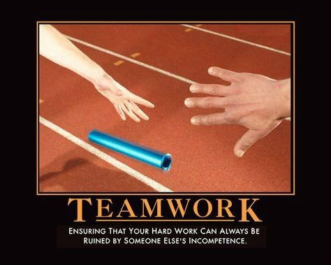 depressing funny teamwork