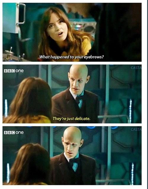 funny-doctor-who-matt-smith-eyebrows