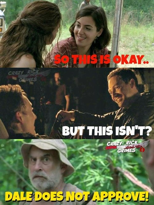 funny-walking-dead-dale-doesnt-approve-of-homophobia