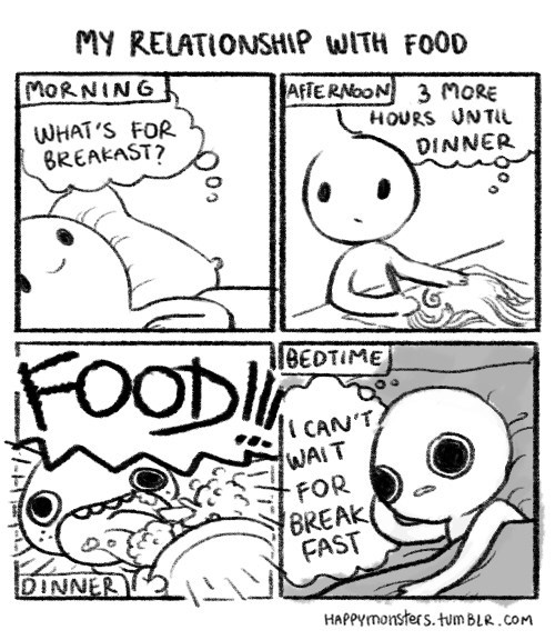 funny-web-comics-my-relationship-with-food