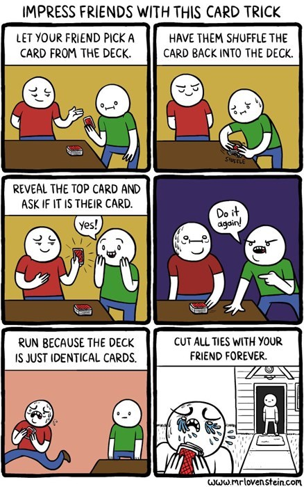 Impress Friends With This Card Trick