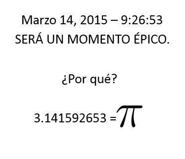 Al menos para matemáticos