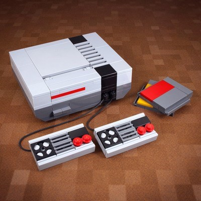 geeky merch nes lego for sale