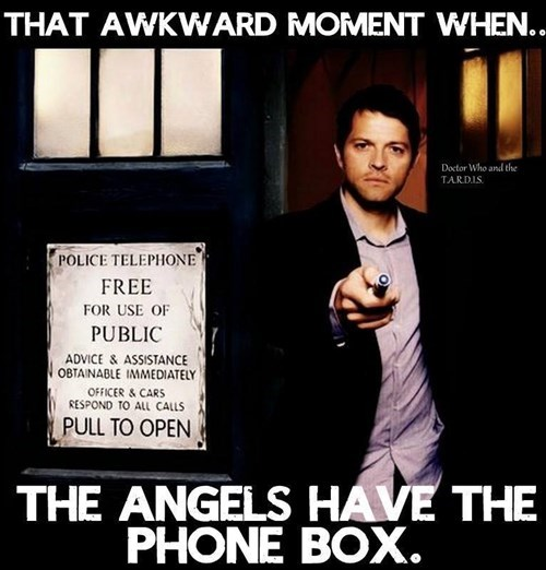 funny-doctor-who-castiel-angels-have-phone-box-tardis