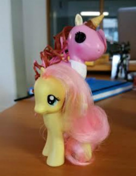 pony stacking MLP fluttershy - 8454238720