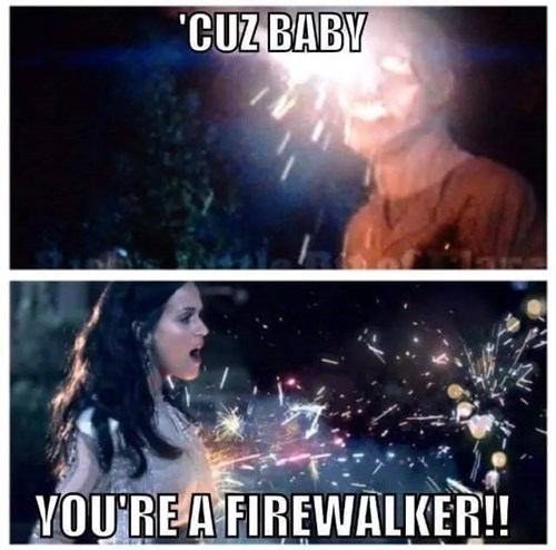 funny-walking-dead-katy-perry-firework-road-flare-walker