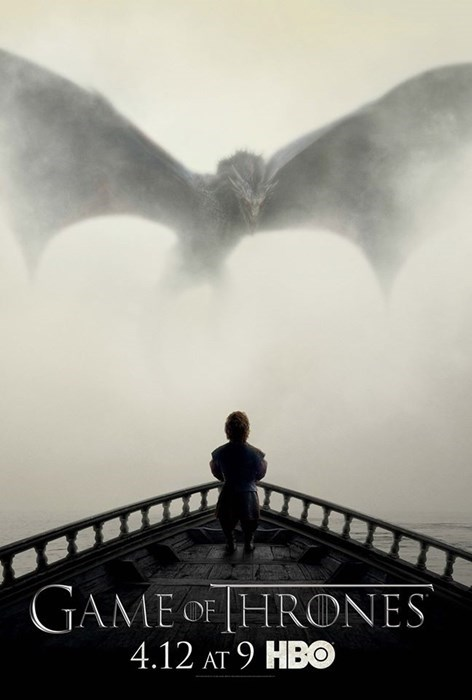 geek news game of thrones season 5 dragon poster