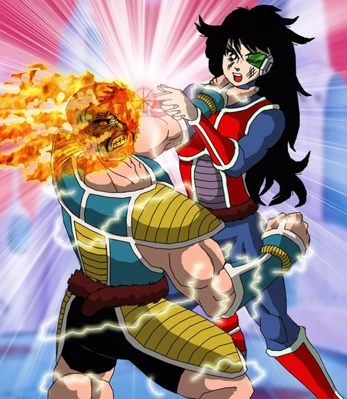 crossover anime Fan Art Dragon Ball Z sailor moon - 8454774272