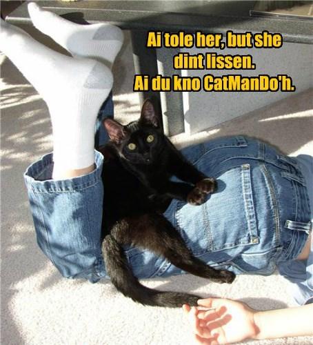 karate Cats black cat - 8454892800