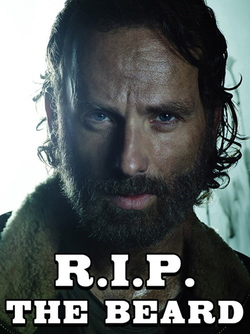funny-walking-dead-rick-shaved-beard-rip