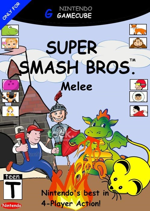 super smash bros clip art - 8455404288