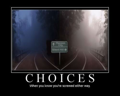 screwed,bad idea,choices,funny