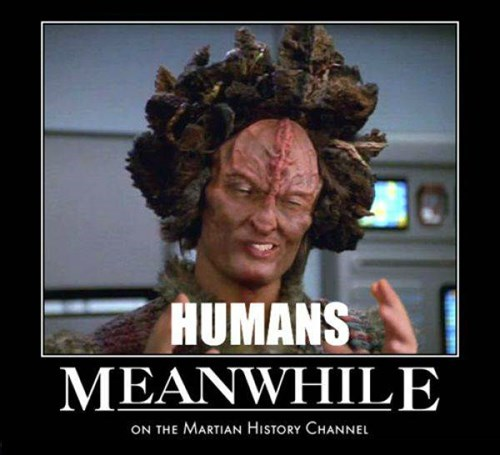 humans Meanwhile martians funny - 8455622144