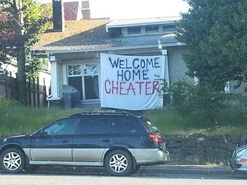 welcome to your ex home would have been worse