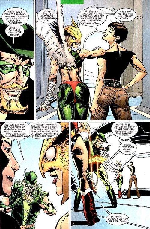 green arrow hawkgirl no game Straight off the Page wonder woman - 8455686656