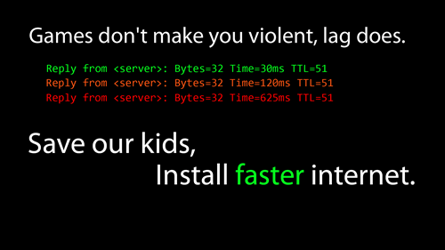 violence,the internets,lag