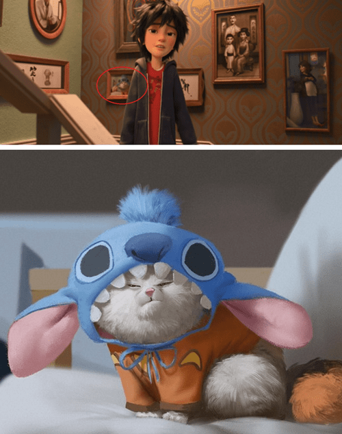 disney memes big hero 6 mochi stitch easter egg