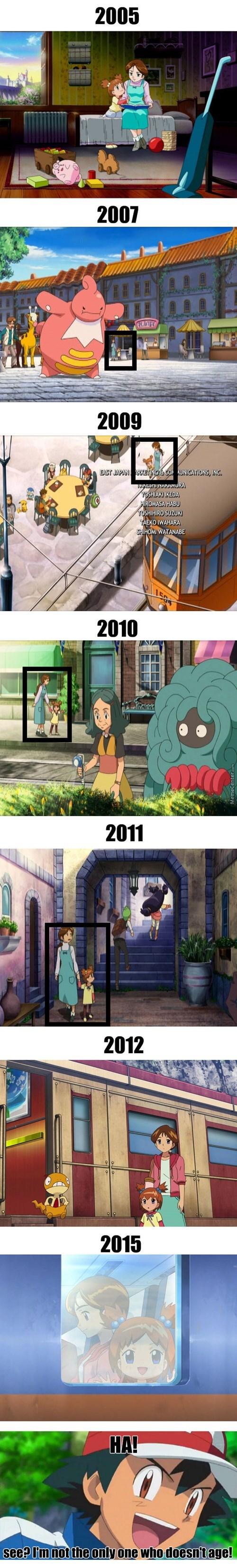 ash ketchum Pokémon anime aging - 8455826688