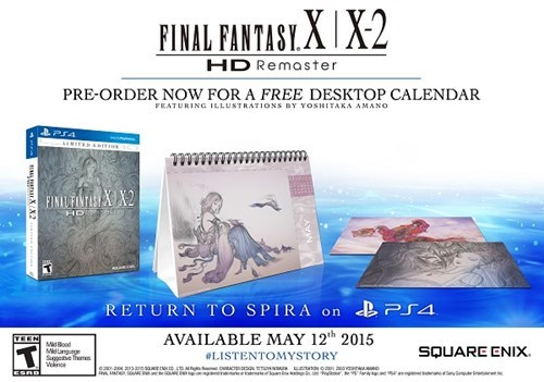 video game news final fantasy x x2 may 12 release