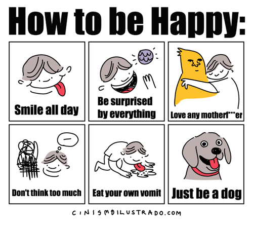 dogs,happiness,web comics
