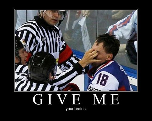 ref brains hockey funny - 8456254208