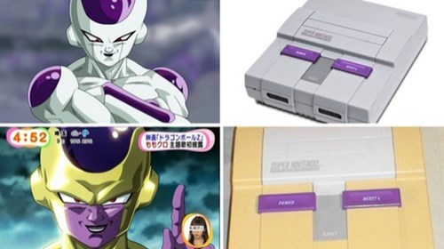 anime memes gold frieza totally looks like snes