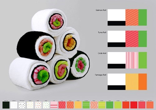 towel sushi - 8456301312