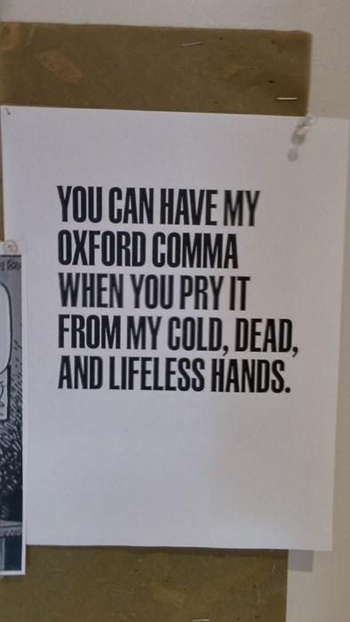 the oxford comma is a grammatical treasure