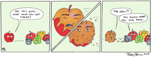 funny-web-comics-the-origin-of-the-caramel-apple