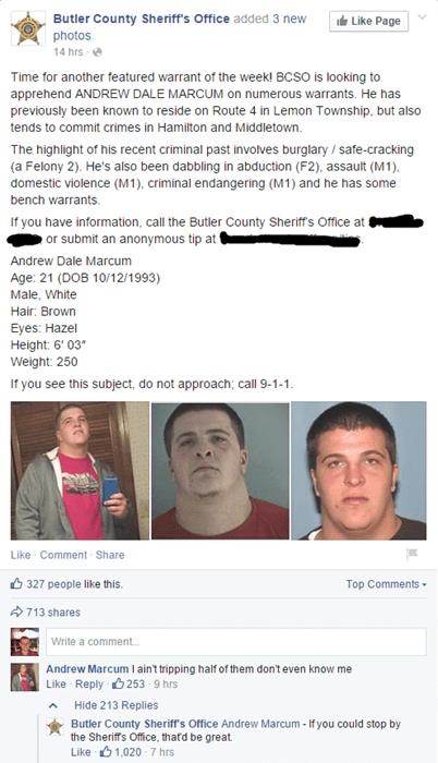 funny-facebook-fails-criminal-police