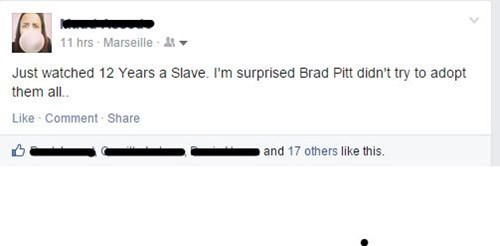 brad pitt adoption 12 years a slave Movie