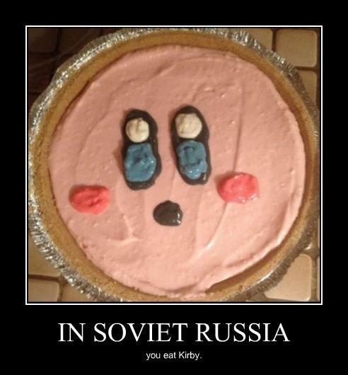 kirby video games funny Soviet Russia - 8456832256